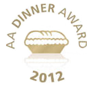 AA 3-star dinner award 2012